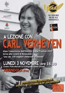 Carl Verheyen_locandina_AssociazioneLaFenice